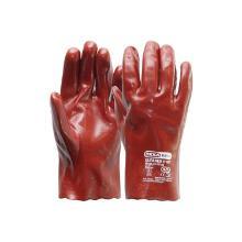 Handschoen PVC rood, 270 mm Productfoto