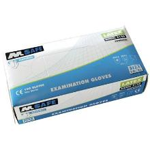 M-Safe 4140 disposable latex handschoen Productfoto