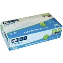 M-Safe 4160 disposable latex handschoen Productfoto