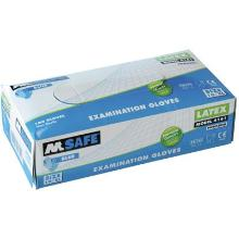 M-Safe 4161 disposable latex handschoen Productfoto