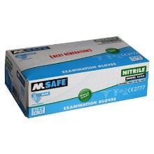 M-Safe 4525 disposable nitril handschoen Productfoto