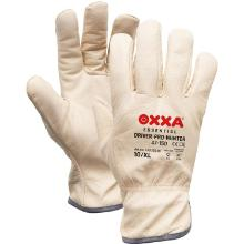 Nerflederen chauffeurshandschoen met flanel voering Productfoto