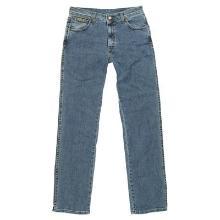 Wrangler Texas Stretch blauw spijkerbroek Productfoto