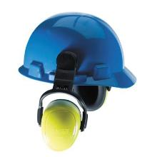 MSA left/RIGHT HIGH earmuff with helmet attachment product photo