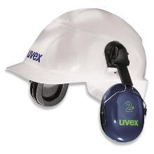 uvex 2H 2500-021 gehoorkap met helmbevestiging Productfoto