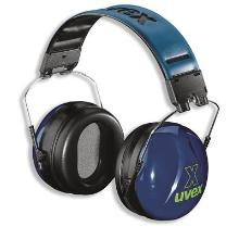 uvex x 2500-030 gehoorkap met hoofdband Productfoto