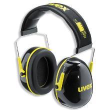 uvex K2 2600-002 gehoorkap met hoofdband Productfoto