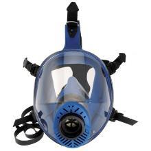 Spasciani TR 2002 CL2 blauw TPE volgelaatsmasker Productfoto