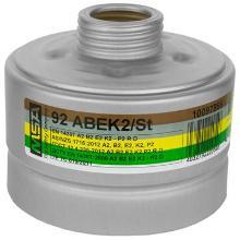 MSA 92 combinatiefilter A2B2E2K2-P2 R D Productfoto