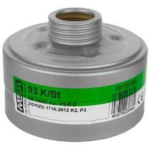 MSA 93 combinatiefilter K2-P3 R D Productfoto