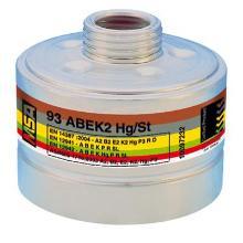 MSA 93 combinatiefilter A2B2E2K2Hg-P3 R D Productfoto