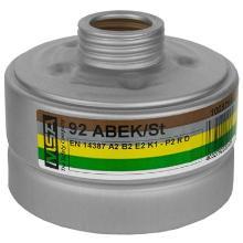 MSA 92 combinatiefilter A2B2E2K1-P2 R D Productfoto