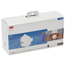 3M Aura 9322+S stofmasker FFP2 NR D met uitademventiel in kleinverpakking Productfoto