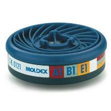 Moldex 930001 gas- en dampfilter A1B1E1 Productfoto