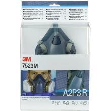 3M 7523M starterskit voor halfgelaatsmaskers met A2-P3 R filtercombinatie Productfoto