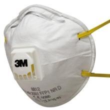 3M 8812 stofmasker FFP1 NR D met uitademventiel Productfoto