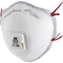 3M 8833 stofmasker FFP3 R D met uitademventiel Productfoto
