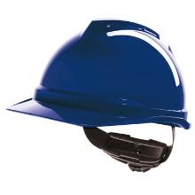 MSA V-Gard 500 non ventilated safety helmet with Fas-Trac III harness product photo