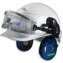uvex ultravision 9301-544 ruimzichtbril t.b.v. helmbevestiging Productfoto