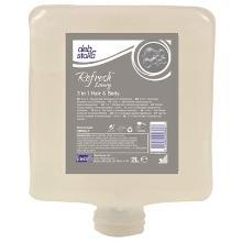 Deb Stoko Refresh Luxury 3 in 1 Hair & Body shampoo Productfoto