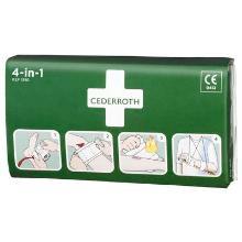 Cederroth 4-in-1 bloedstelpende verbanden Productfoto