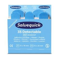 Salvequick blue detectable pleisters Productfoto