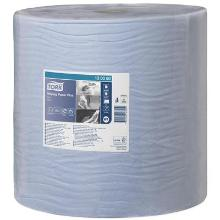 Tork Advanced Wiper 420 Roll Blue Performance cleaning roll product photo