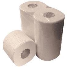 2-laags toiletpapier, 400 vel, 10x4 rollen, recycled Productfoto