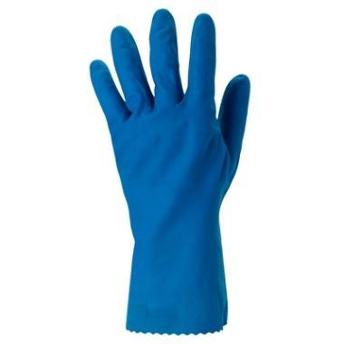 Ansell Profood 87-305 latex blauw, 9½-10