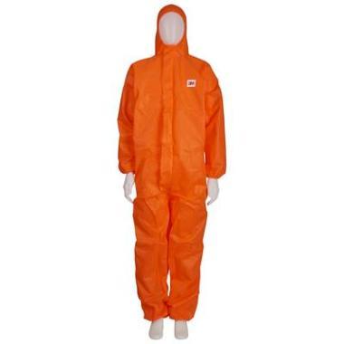 3M Disposable overall 4515 oranje, 4XL