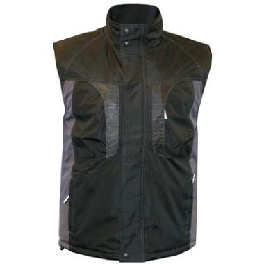 M-Wear bodywarmer 0320 zwart/grijs, 3XL