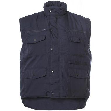 M-Wear bodywarmer Worker 0370 blauw, 3XL