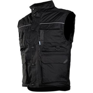 bodywarmer Sioen 087A zwart, 3XL
