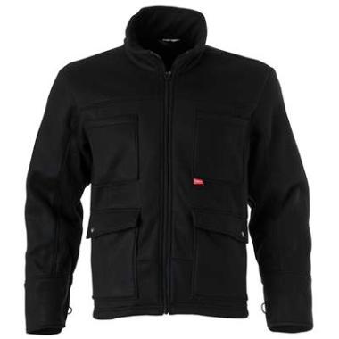Havep fleecevest 40003 zwart  3XL