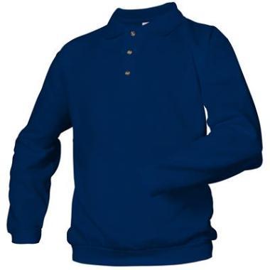 polosweater+band Logostar K/P blauw,8XL