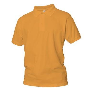 polo shirt Logostar kat oranje, 4XL