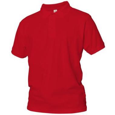 polo shirt Logostar kat rood, 4XL