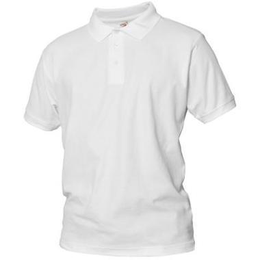 polo shirt Logostar kat wit, 3XL