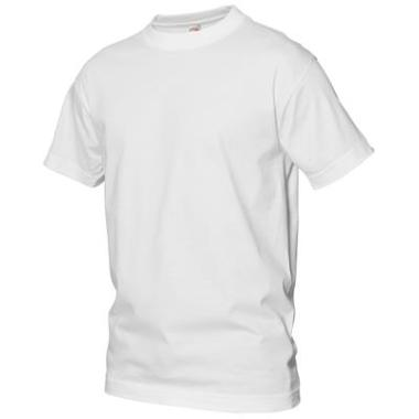 t-shirt Logostar basic wit, 140