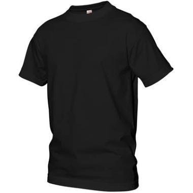 t-shirt Logostar basic zwart,6XL