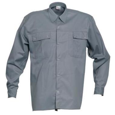 overhemd K/P 1569 L/M grijs 3XL