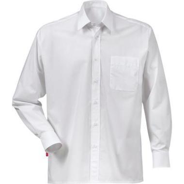 Fristads overhemd K/P LM wit, XXL