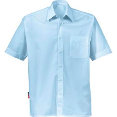 Fristads overhemd K/P KM l.blauw, XXL