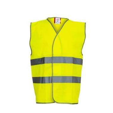 M-Wear verkeersvest geel EN471, XL/XXL