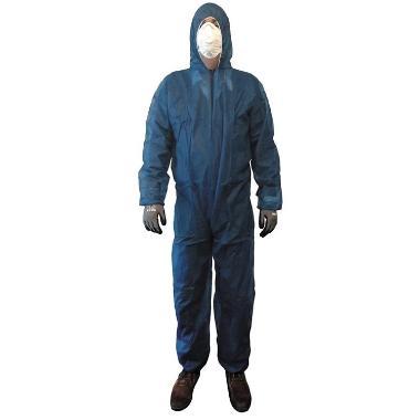 polypropyleen overall  blauw XXL