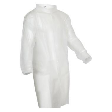 bezoekersjas polyprop wit zonder zak.XXL