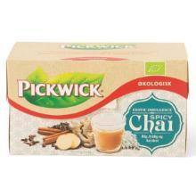 Te Pickwick Spicy Chai 17 breve Økologisk (DK-ØKO-100) product photo