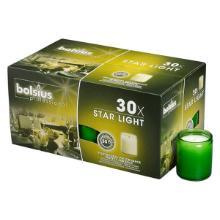 Glaslys Starlight Refill Lime Brændetid 50 timer product photo