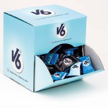 Tyggegummi V6 Dental Mix 170 ps á 2 stk i Salgsdisplay product photo