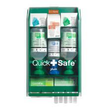 Sikkerhedsskab QuickSafe Complete med Øjenskyl/Brandgel/Plastre/Kompres/Sårrens product photo